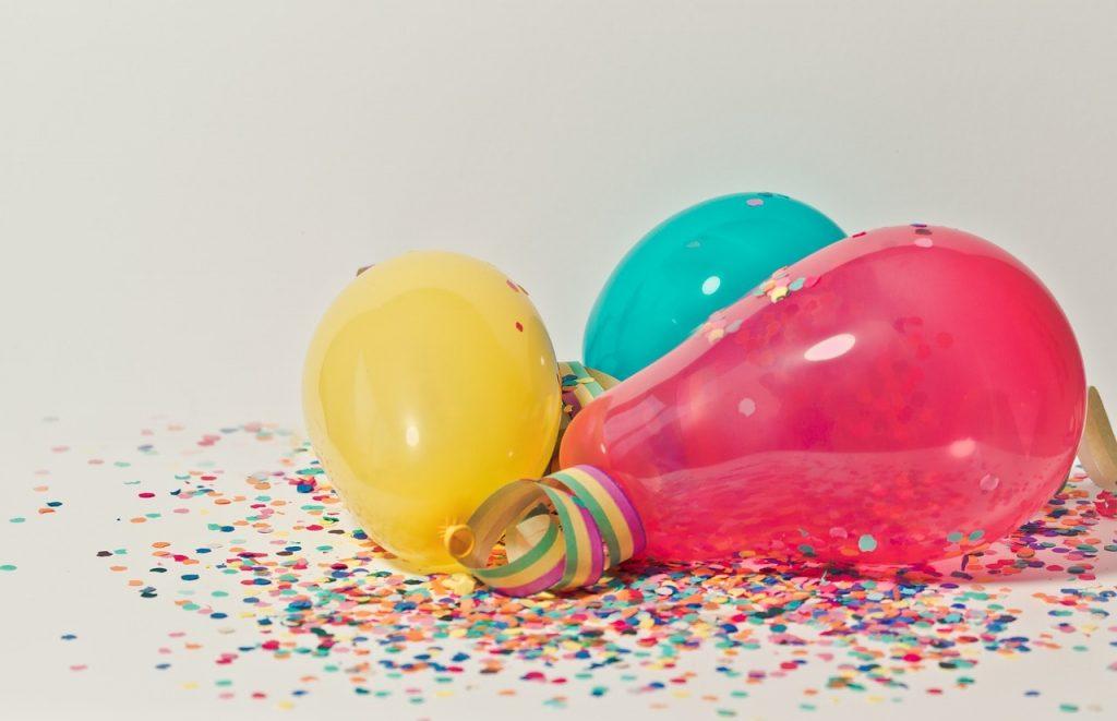 Princess Confetti Balloons