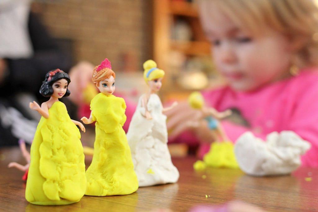 Princess Play Dough Princess Party Craft Ideas