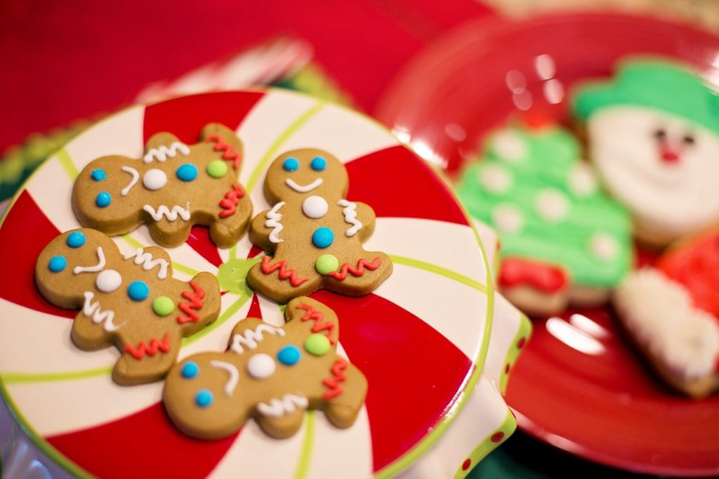 Christmas Themed Cookies